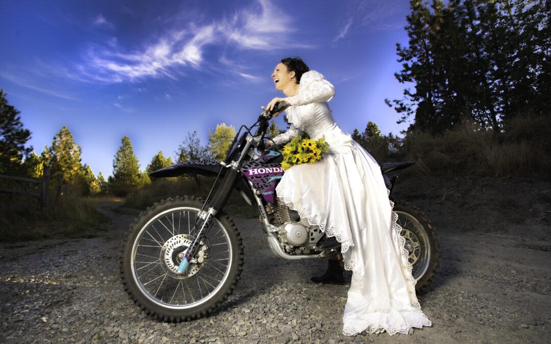 Retro Bride Dena 1991